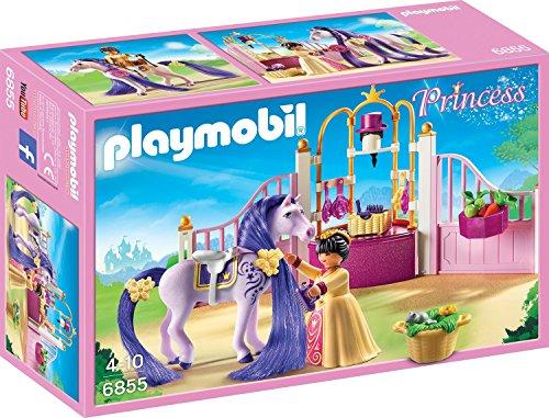 Playmobil 6855 - Königlicher Pferdestall 9,31 und 9,32 Euro bei Dodax und Amazon