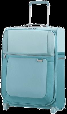 [Kofferprofi] sehr leichter Samsonite Handgepäck-Trolley/Koffer Uplite Upright 55cm in blau