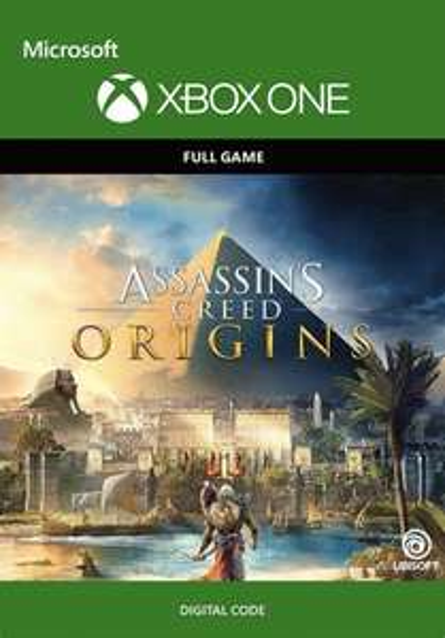 Xbox One Assasins Creed Origins + Unity (cdkeys)
