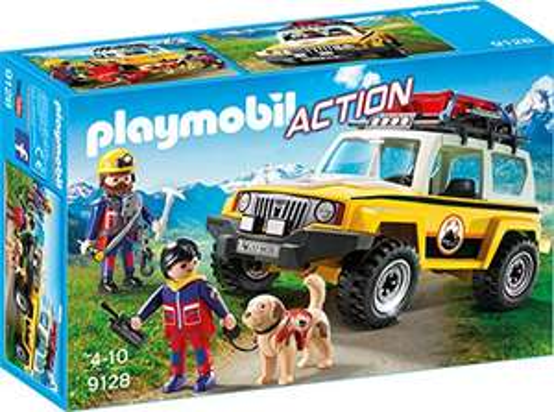 Playmobil 9128 - Bergretter-Einsatzfahrzeug - Amazon Prime