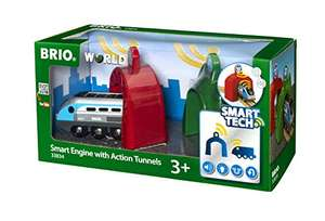 [Amazon] BRIO World 33834 - Smart Tech Zug mit Actiontunnels