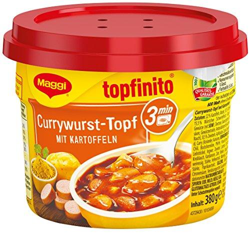 Maggi 6er Pack Currywurst-Topf mit Kartoffeln -20% [AMAZON]