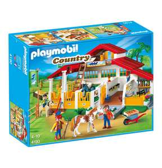 Playmobil Moderner Reiterhof 4190 32,99 Euro bei Filial Abholung (3,95 Euro Versand)