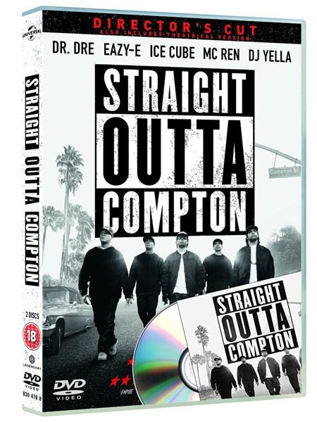Straight Outta Compton (DVD) + Soundtrack (CD) für 5,20€ (Zoom)