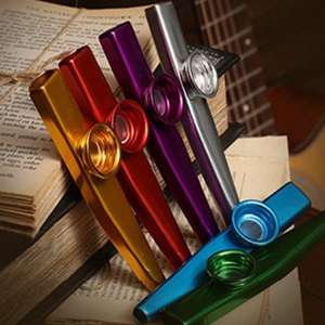 Kazoo Musik Instrument aus Aluminium für 42 Cent (Zapals)