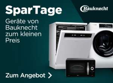 Bauknecht-Spartage bei ao, z.B. Bauknecht IBBO 3C34 X teilintegrierter Geschirrspüler, A+++
