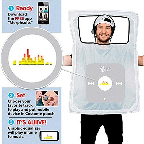 Mp3 Player Kostüm für nur 6,47 EUR [Plus Produkt]