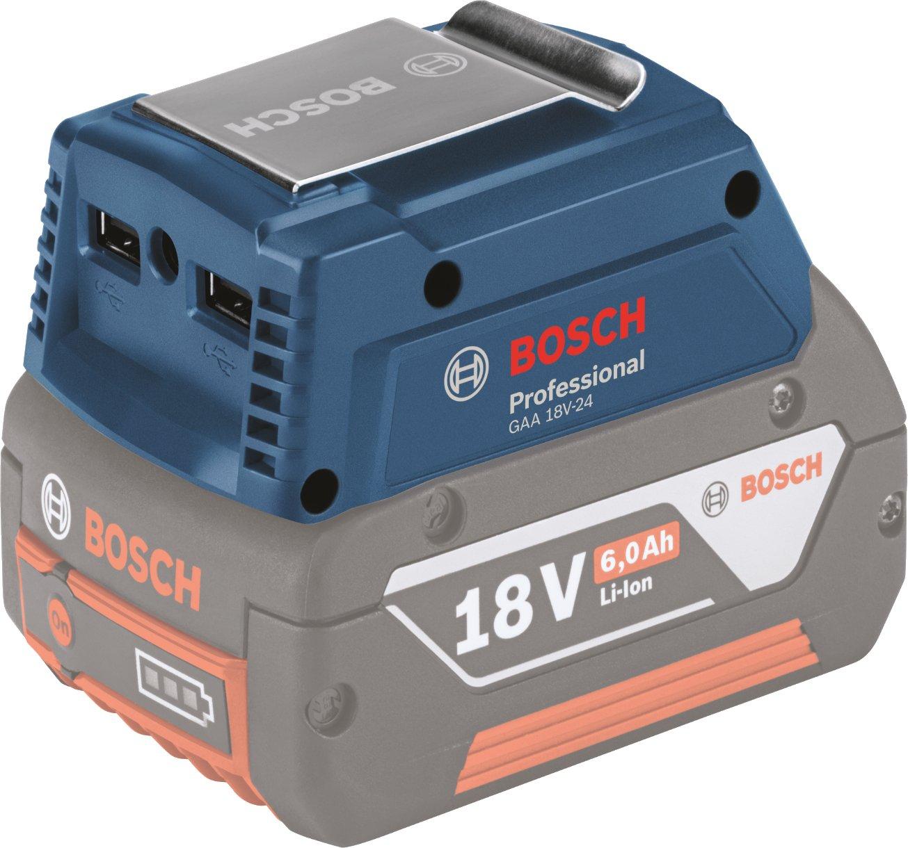 [Werkzeugblitz über idealo] Bosch Ladegerät GAA 18 V-24 - Bosch Akkus als Powerbank