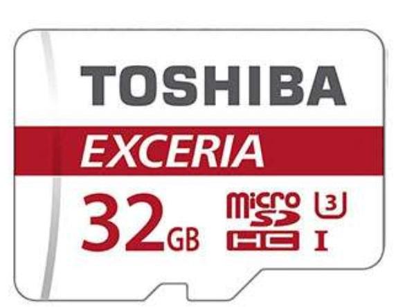 Toshiba Exceria microSD mit 32GB (U3) für 10,29€ [7DayShop]