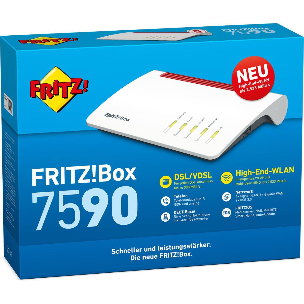 AVM Fritzbox 7590 mieten ab 2,99€