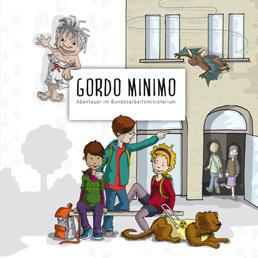 "Kinderbuch ""Gordo Minimo"" gratis + Mal - und Rätselbuch"