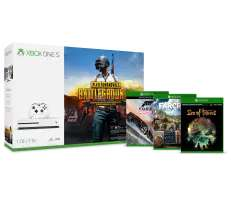 Xbox One S 1TB + Playerunknown's Battlegrounds + Far Cry 5 + Halo 5 Guardians für 264€ (Microsoft)