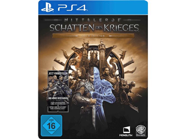 Mittelerde: Schatten des Krieges - Gold Edition (PS4) für 33€ & für den PC für 25€ [Mediamarkt]