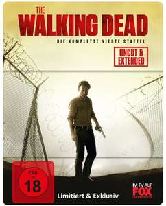 The Walking Dead Staffel 4 Uncut Limited Steelbook (Blu-Ray) für 25€ versandkostenfrei (Media Markt)
