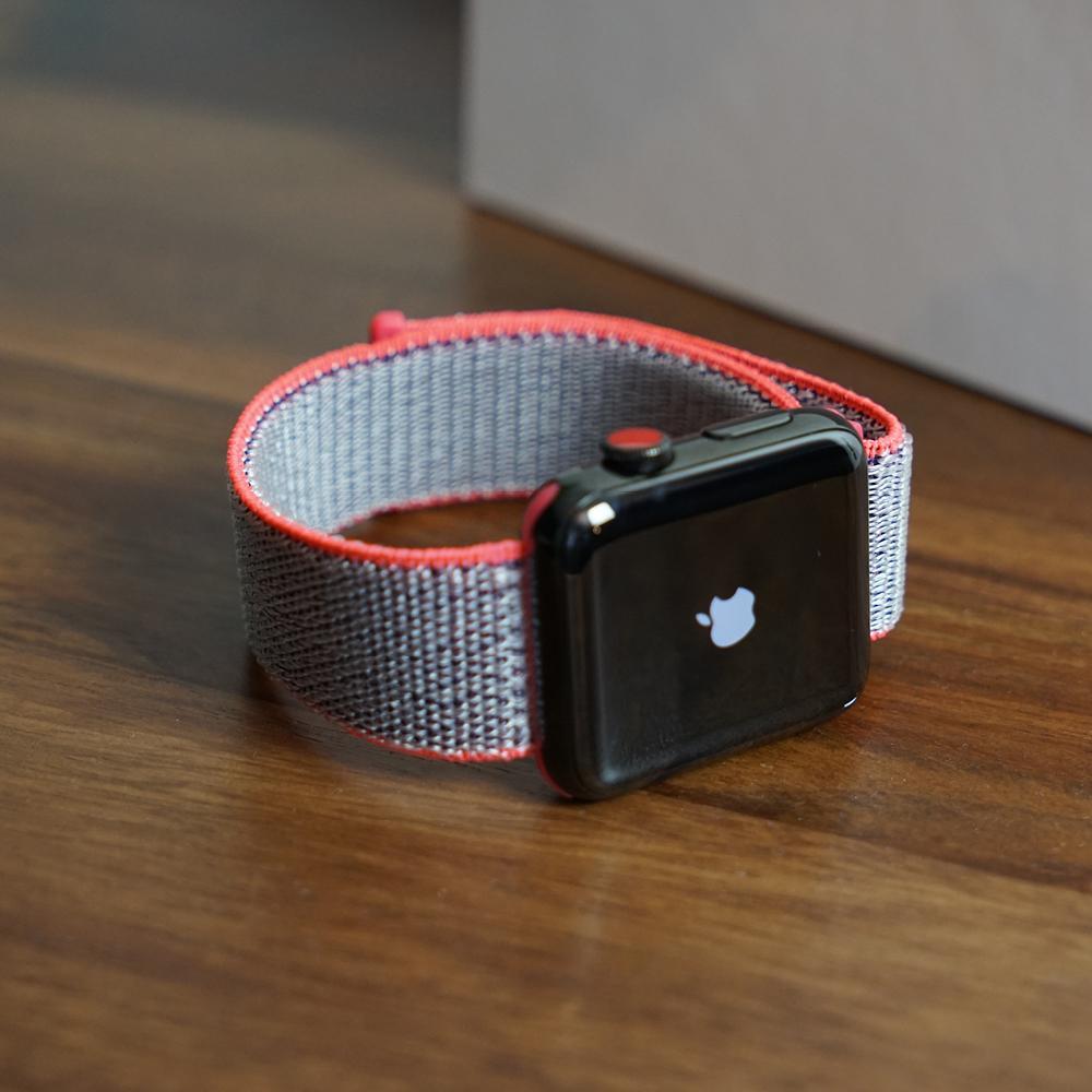 [Bluestein.de] Nylon Schlaufenarmband für Apple Watch, ähnlich Sport Loop