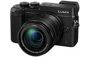 [Amazon UK] Panasonic Lumix DMC-GX8 inkl. LUMIX G Objektiv H-FS12060 (GX8MEB-K)