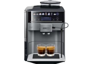 SIEMENS TE 651509 DE EQ.6 Plus S100 für 649€ + 70€ Geschenkcoupon - Kaffeevollautomat, 1.7 Liter Wassertank, 15 bar, Keramikmahlwerk, Schwarz/Titanium metallic