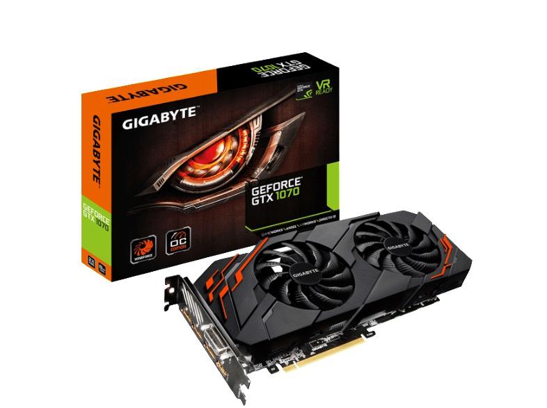 [Media Markt] GIGABYTE GeForce® GTX 1070 Windforce OC 8GB