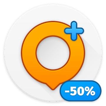 Karten & Navigation — OsmAnd+ (Offline Navigation) (-50%)