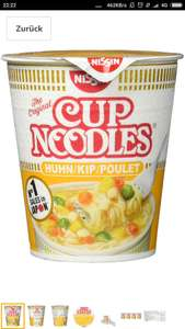 4 x Nissin Cup Noodles Huhn im Amazon Sparbo