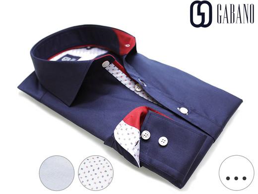 Gabano Herrenhemden Größe S bis 3XL für 29,95€ nur heute