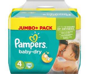 Ab heute: [Rossmann+App] Pampers Baby Dry Jumbo+ alle Größen ab 9.4.2018 (Mo)