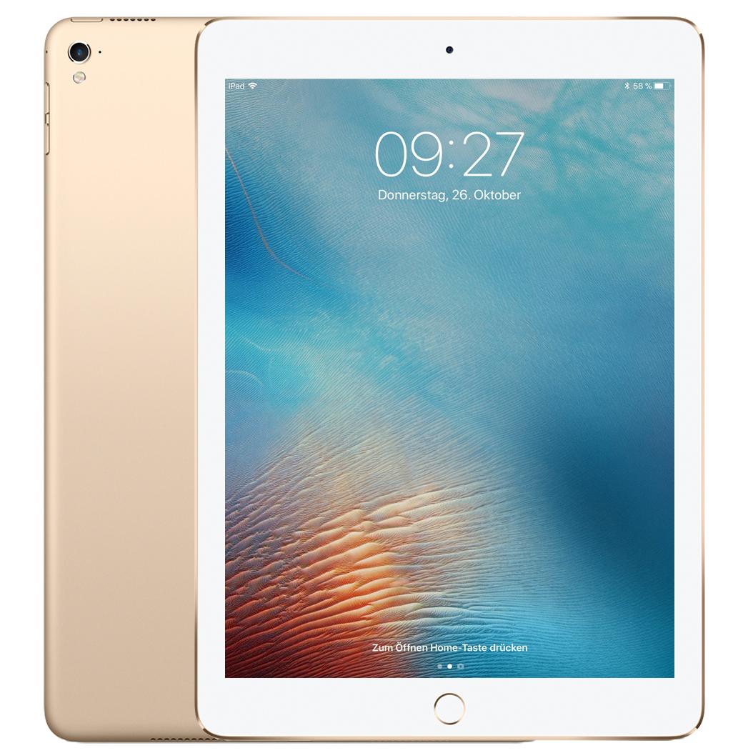 "[NBB] Apple 9,7"" iPad Pro 32 GB WiFi + Cellular - Gold (4G LTE, Nano-SIM Slot) - 2016er Modell -"