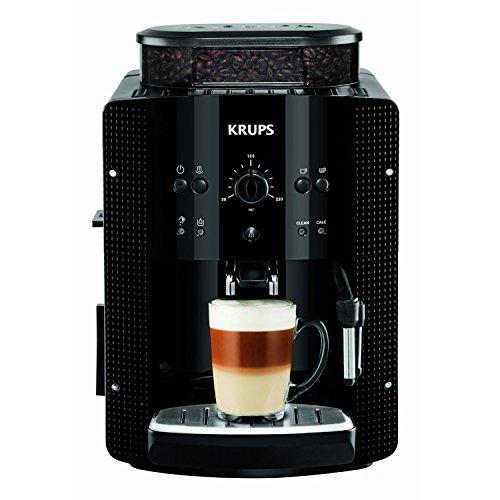 [Amazon Prime oder Saturn] Krups EA8108 Kaffeevollautomat (1450 Watt, 1,8 Liter, 15 bar, CappuccinoPlus-Düse, Dampfdüse) schwarz