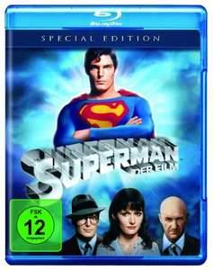 Superman - Der Film Special Edition (Blu-ray) für 5€ (Amazon Prime & Dodax)