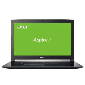 "Acer Aspire 7 A717-71G-55GT Notebook | 17,3"" Full-HD IPS Display matt, GeForce GTX 1060, Intel i5-7300HQ, 8GB RAM, 1TB HDD, Win 10"