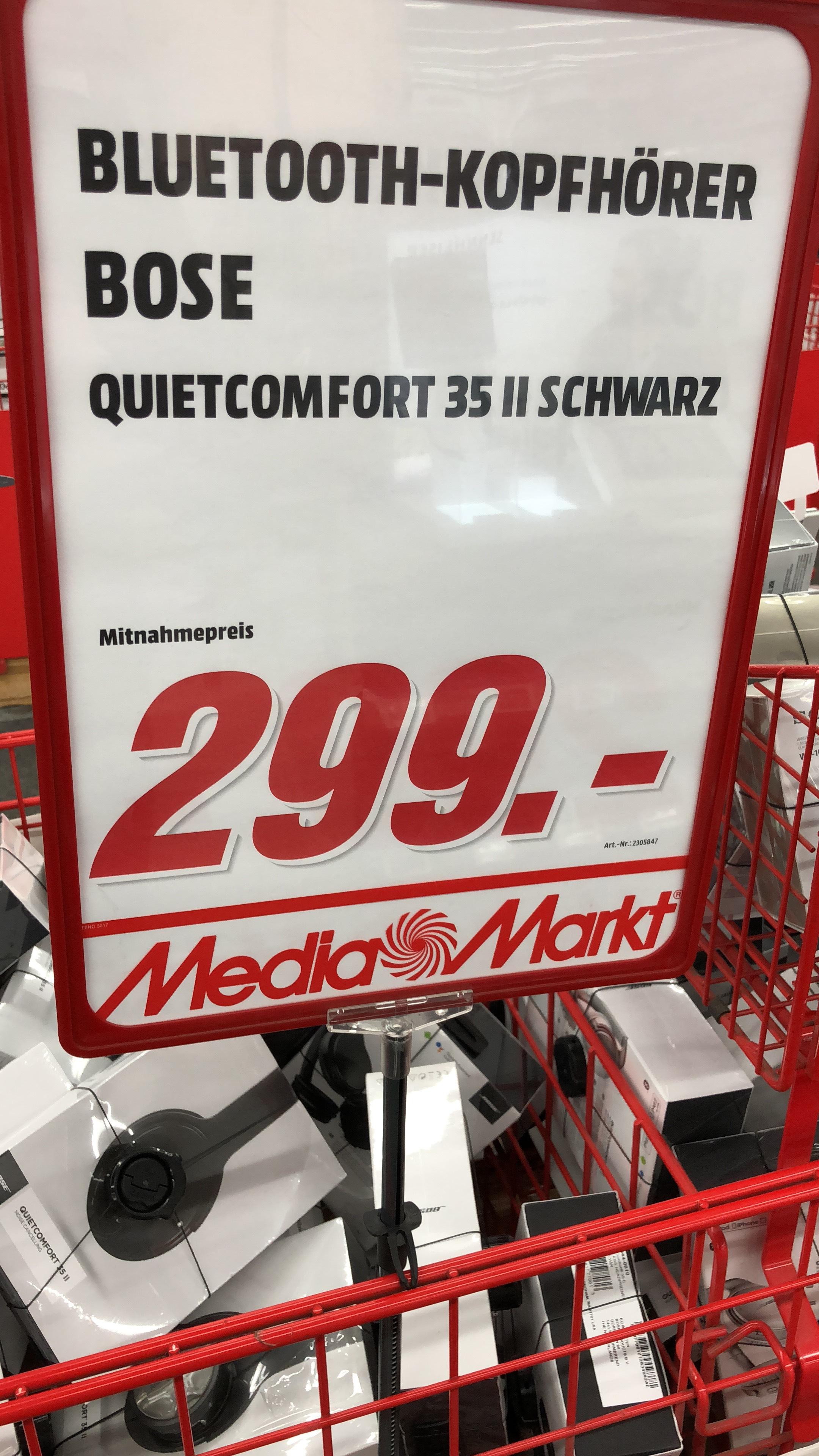 [Lokal Berlin] Bose QuietComfort 35 II