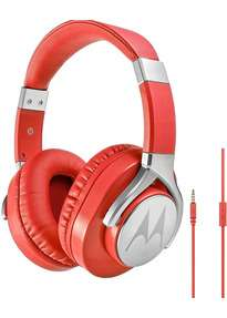 "Motorola Max Pulse rot mit Zustand ""wie neu"" | Kabelgebundene Over-Ear Kopfhörer"