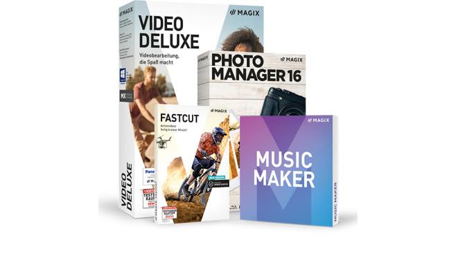 Magix Software-Paket bei Computer Bild