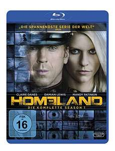 Homeland - Staffel 1 (Blu-ray) für 9,99€ (Amazon Prime & Saturn)