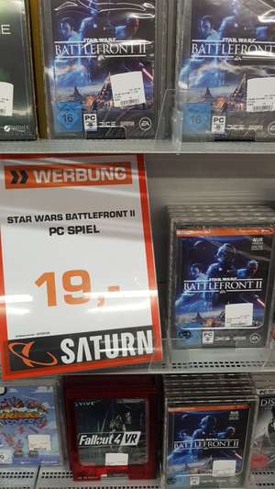 [Lokal] Saturn Wesel - Star Wars Battlefront 2, PC