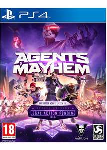 Agents of Mayhem - Day One Edition + Legal Action Pending DLC (PS4) für 7,70€ (Base.com)