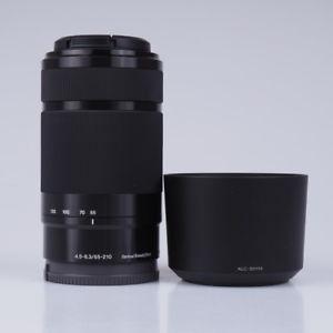 Sony E 55-210mm f/4.5-6.3mm SEL55210 - Teleobjektiv Schwarz (Sony E-Mount)
