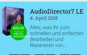 AudioDirector7 LE