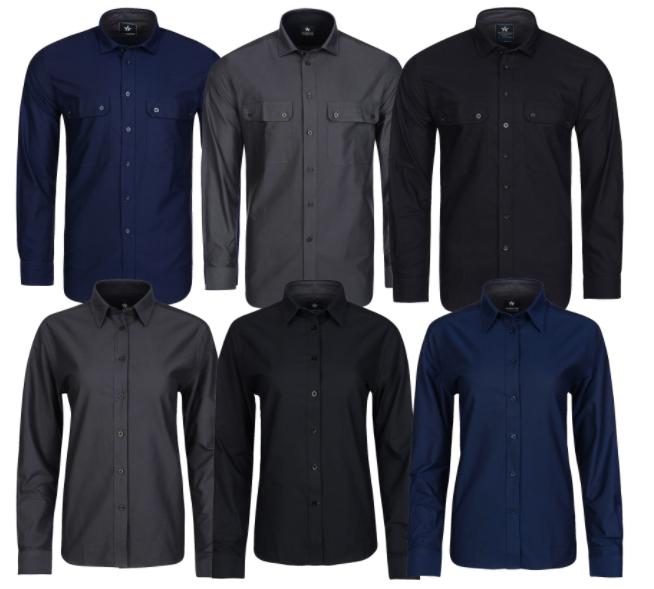TEXSTAR Hemden mit und ohne Taschen aus reiner Baumwolle für 0€ + VSK