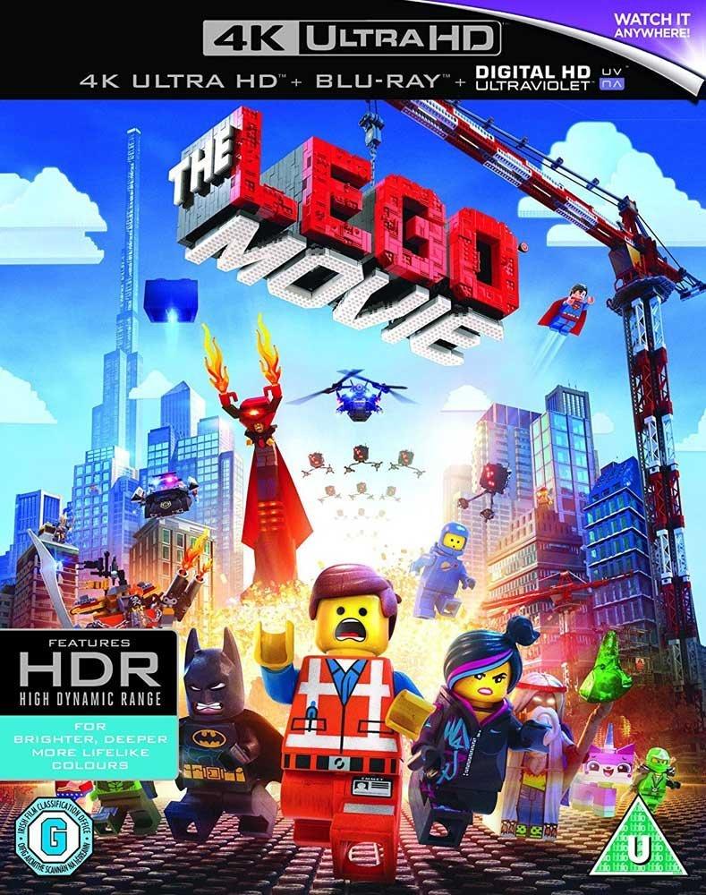 The Lego Movie (4K UHD + Blu-ray + UV Copy) für 6,74€ (Amazon Prime)