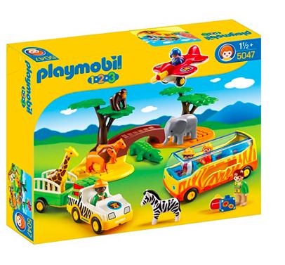 Playmobil 123 Tiere der Savanne