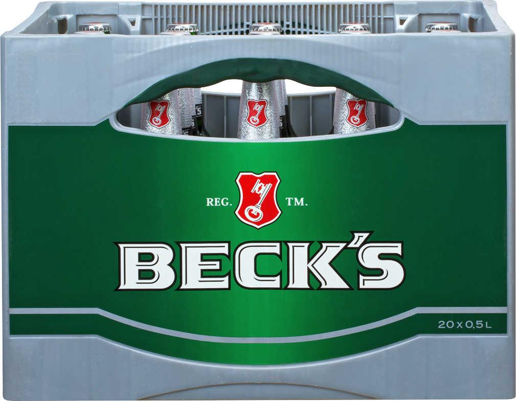 [Kaufland] BECK'S Pils Kasten 20x0,5l 10,80€ -  pro Liter 1,08€ + Pfand ab 05.04.