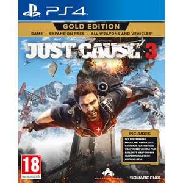 Just Cause 3 Gold Edition (PS4/Xbox One) für 16,78€ (Zavvi)