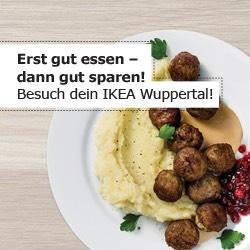[Ikea Wuppertal] 10€ Rabatt ab 100€ Einkaufwert bei Restaurantbesuch ab 10€