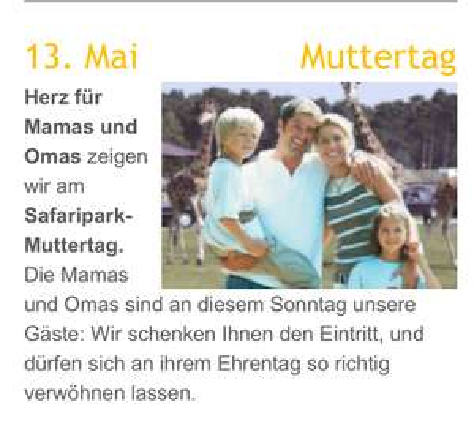 Safari Park Stukenbrock (Kostenlos)