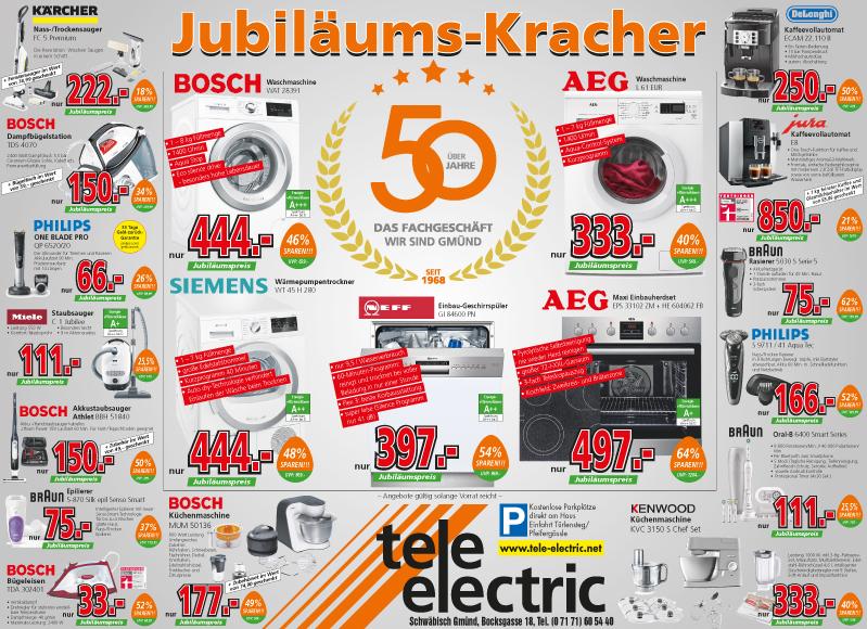 AEG Maxi Einbauherdset EPS 33102 ZM + HE 604062 FB tele-electric Jubiläums Kracher