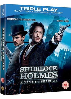 Sherlock Holmes: Spiel im Schatten (Blu-ray + DVD + UV Copy) für 5,77€ (Base.com)
