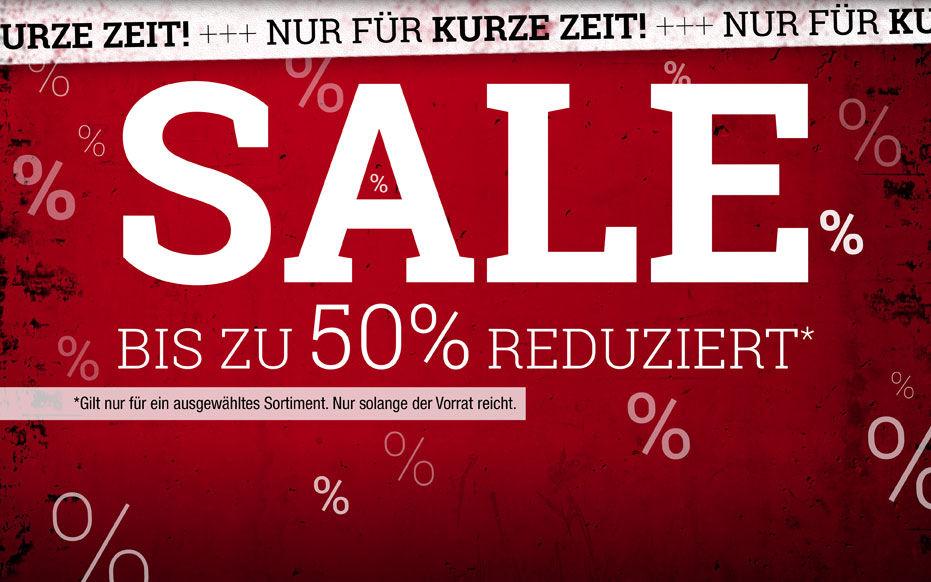 EMP - bis 50% Sale + 15% Rabatt Gutschein