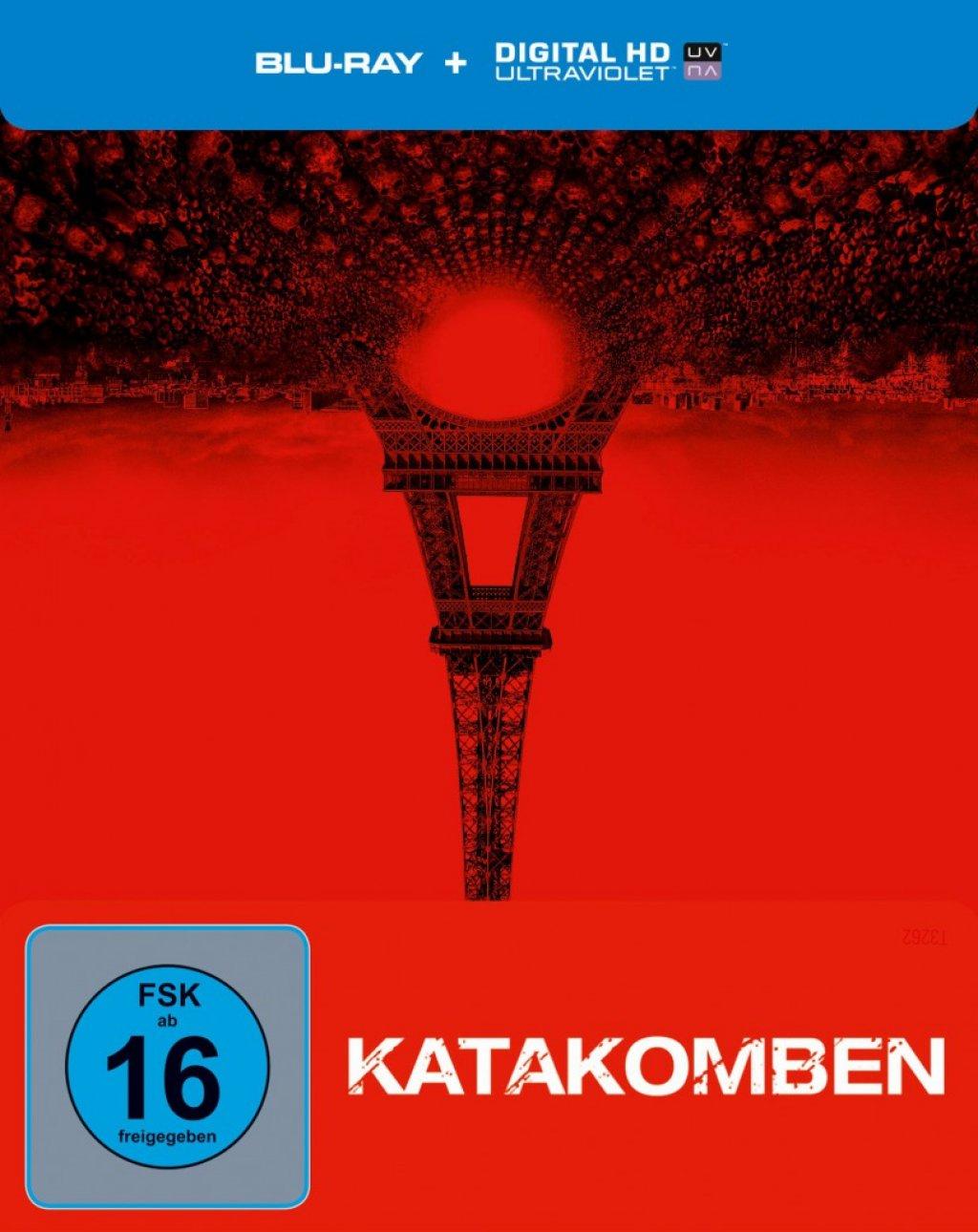 Katakomben Steelbook Limited Edition (Blu-ray) für 8,98€ (Media-Dealer)