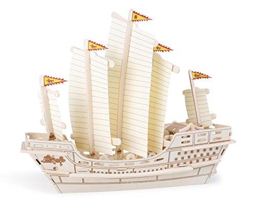 [AMAZON Plusprodukt] Small Foot by Legler 6944 3D Puzzle Segelschiff Zheng He